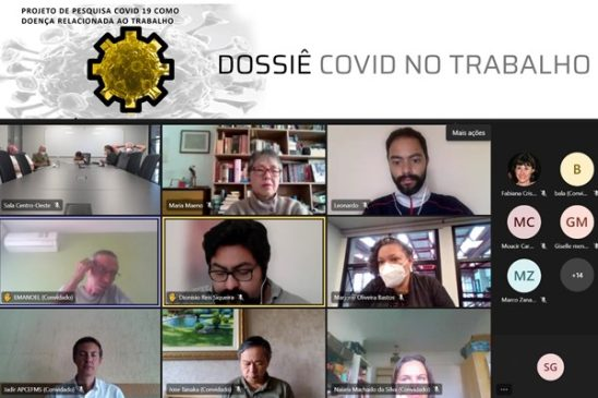 Principais apontamentos do Dossiê Covid no Trabalho são apresentados para a diretoria executiva e Conselho Deliberativo Nacional da Fenae