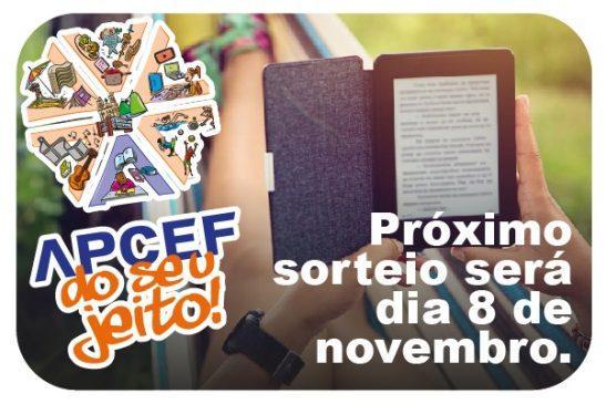 Novo sorteio da campanha Apcef do seu jeito acontece em 8 de novembro. Todos que têm cupons participam!