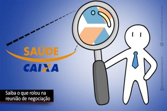 Saúde Caixa: negociações avançam