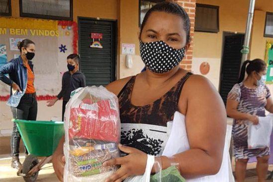 Parceria entre Fenae e ONG Moradia e Cidadania resulta no projeto Horta Escola