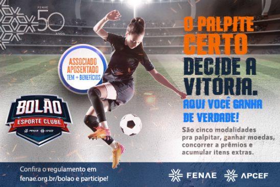 Bolão Esporte Clube: três meses com desafios na plataforma digital para empregados Caixa