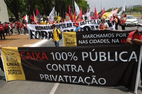 """""""A luta de vocês é uma luta nossa"""", diz presidente da Fenae a representantes dos movimentos de moradia popular"""