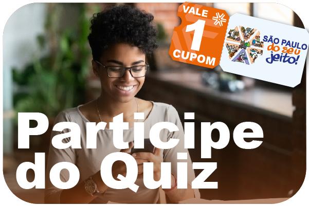 Já está disponível mais um quiz sobre os serviços da Apcef/SP. Participe e concorra a prêmios