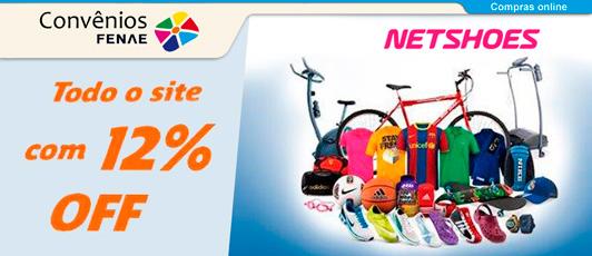 Associados da APCEF SP têm direito a até 12% de desconto nas compras pelo  site da Netshoes. A promoção é válida em todo o site d74229e4f29bc